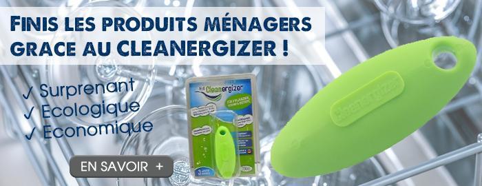 Cleanergizer, la révolution du ménage